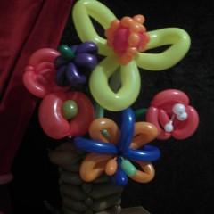 bouquet pour un anniversaire Ballon à emporter