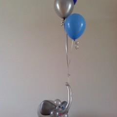 Eléphant en ballons