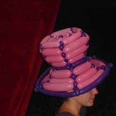 Chapeau en ballons