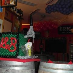 Décoration pour l anniversaire d un bar