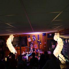 décoration lumineuse pour un concert